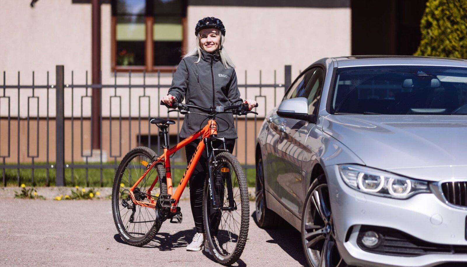 Möödunud suvel valis iga viies ERGO klient asendusauto asemel jalgratta