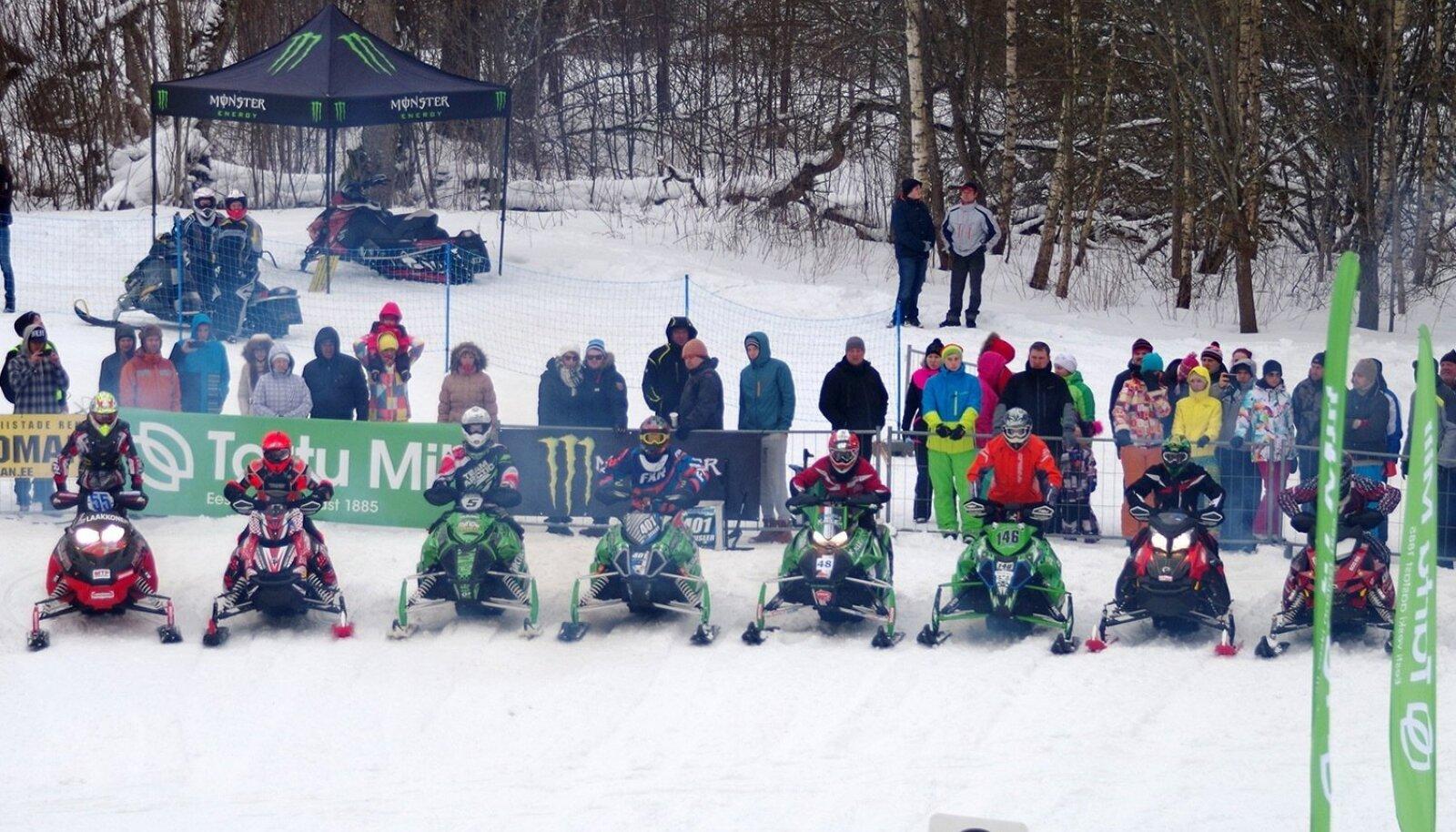 Tartu Mill Snowcrossi PRO klassi start