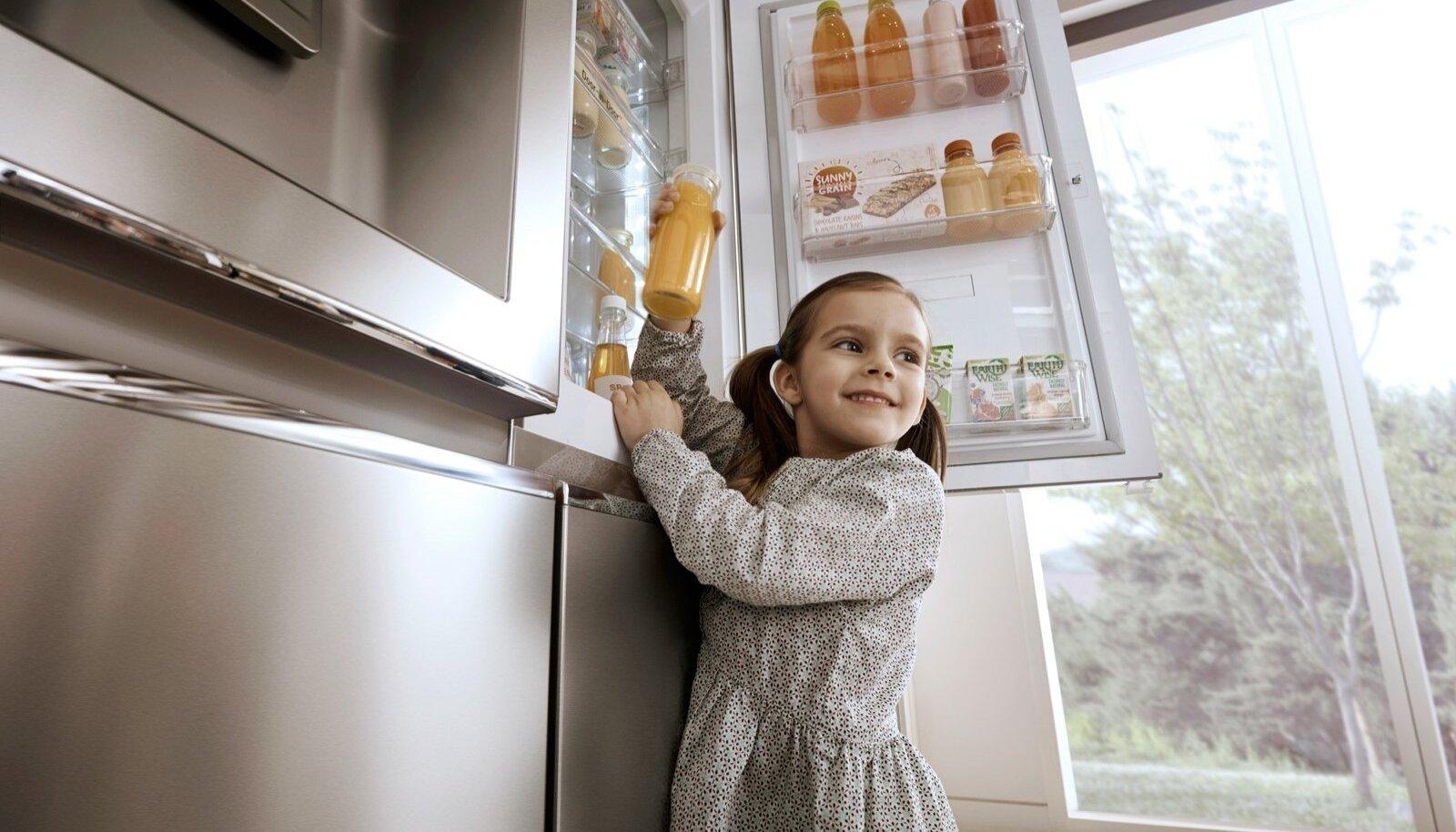 Sobiva temperatuuriga kohale paigutamine hoiab toiduained kauem värsked.