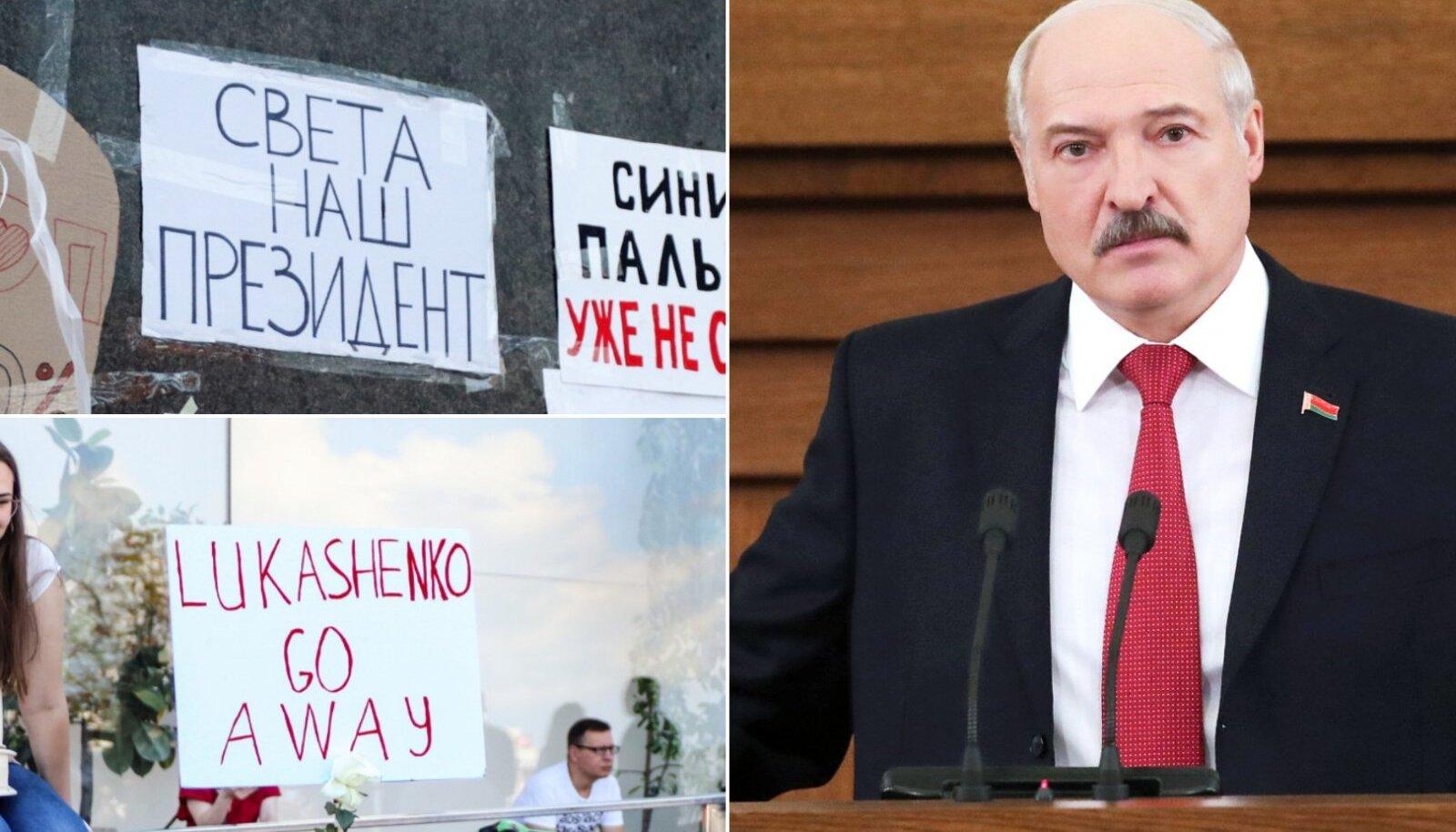 Kohalike meelepaha Valgevenes toimuva suhtes sai ilmsiks ka läbi olümpiamängude - sedapuhku kannavad opositsioonilisi seisukohti edasi sportlased.