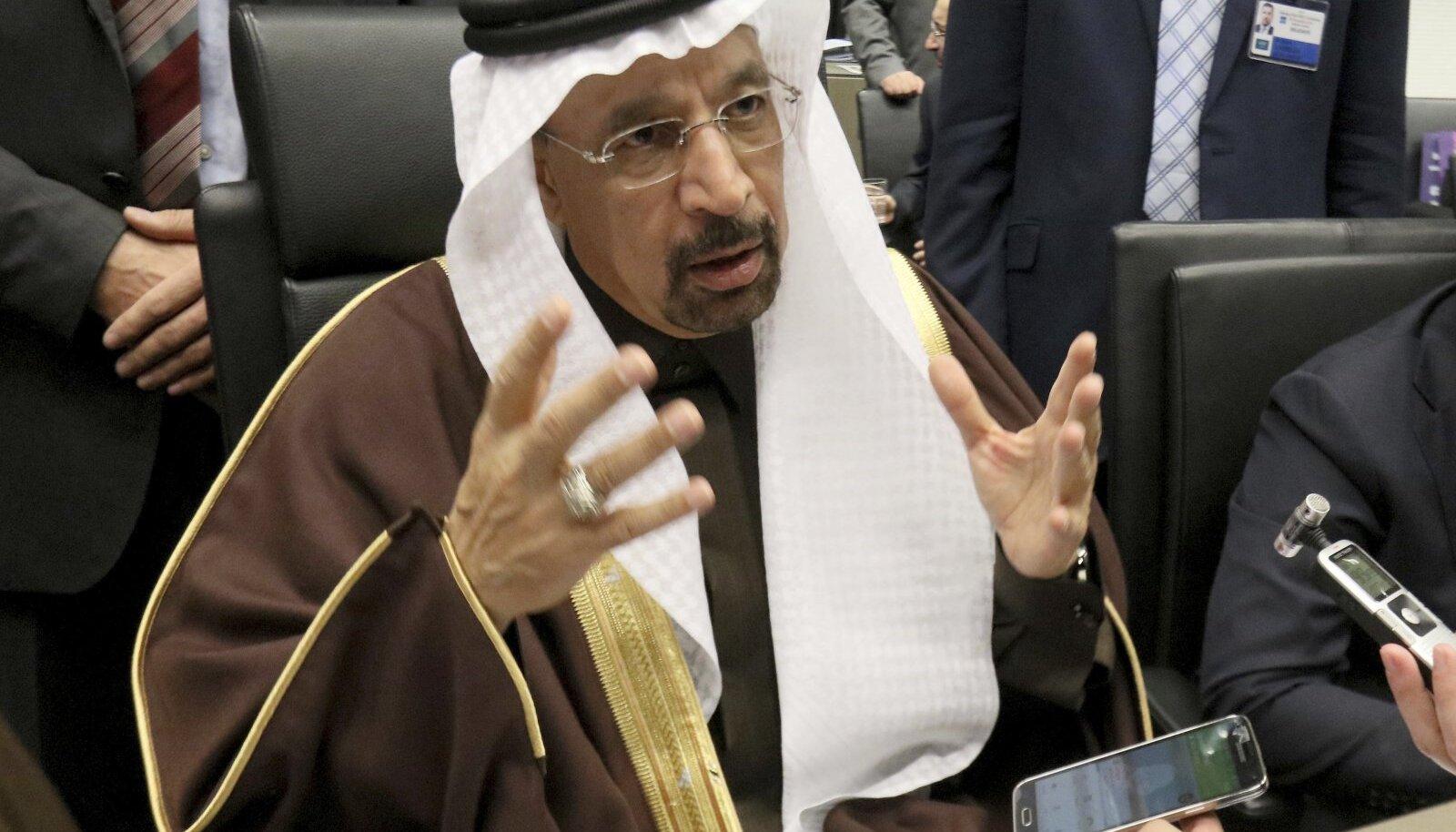 Saudi Araabia energeetikaminister Khaled al-Faleh.