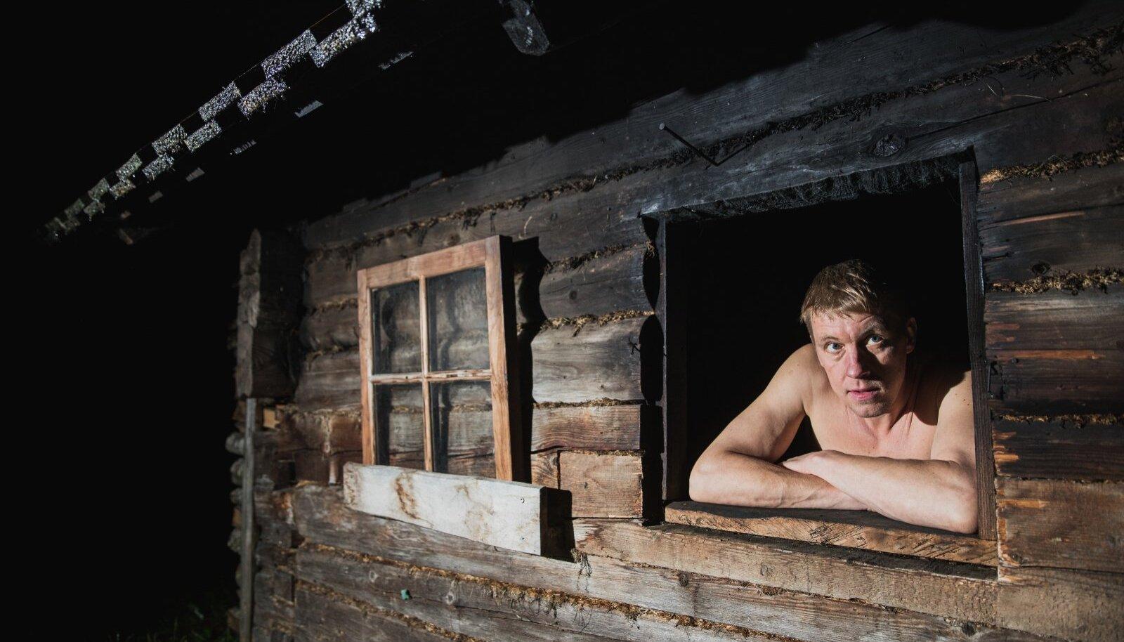 Legendaarne Pluuto ja suitsusaun, see kõige mõnusam. Aga arvatagu nüüd ära, millisest 720st külastatud saunast mees hetkel mõtleb.