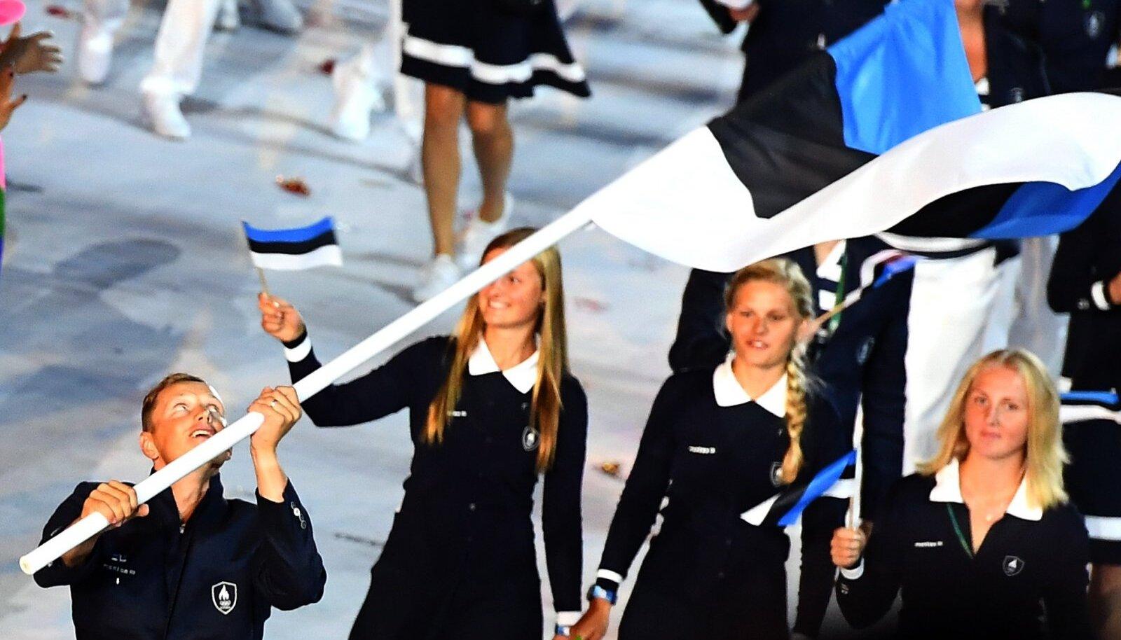 Rio de Janeiro olümpia avamisel Eesti lippu kandnud Karl-Martin Rammo sai lõpuks vaktsineeritud.