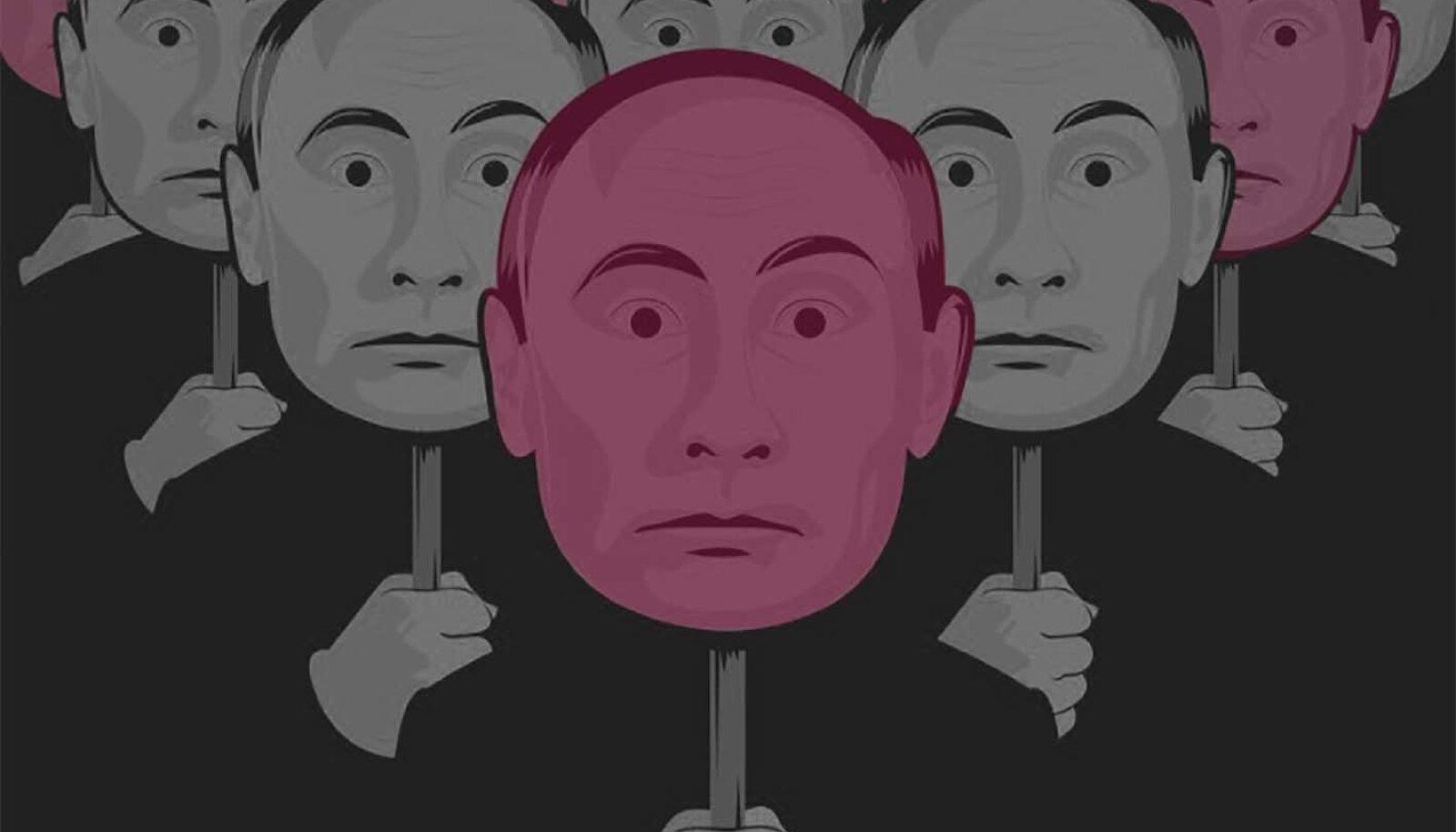 """Fragment Vitali Manski filmi """"Putini tunnistajad"""" reklaamplakatilt"""