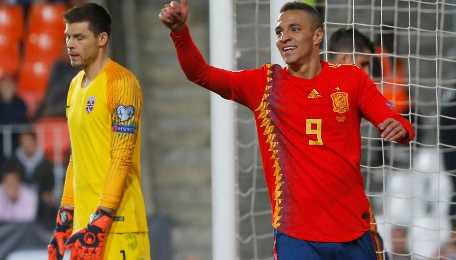 Euro 2020 Qualifier - Group F - Spain v Norway