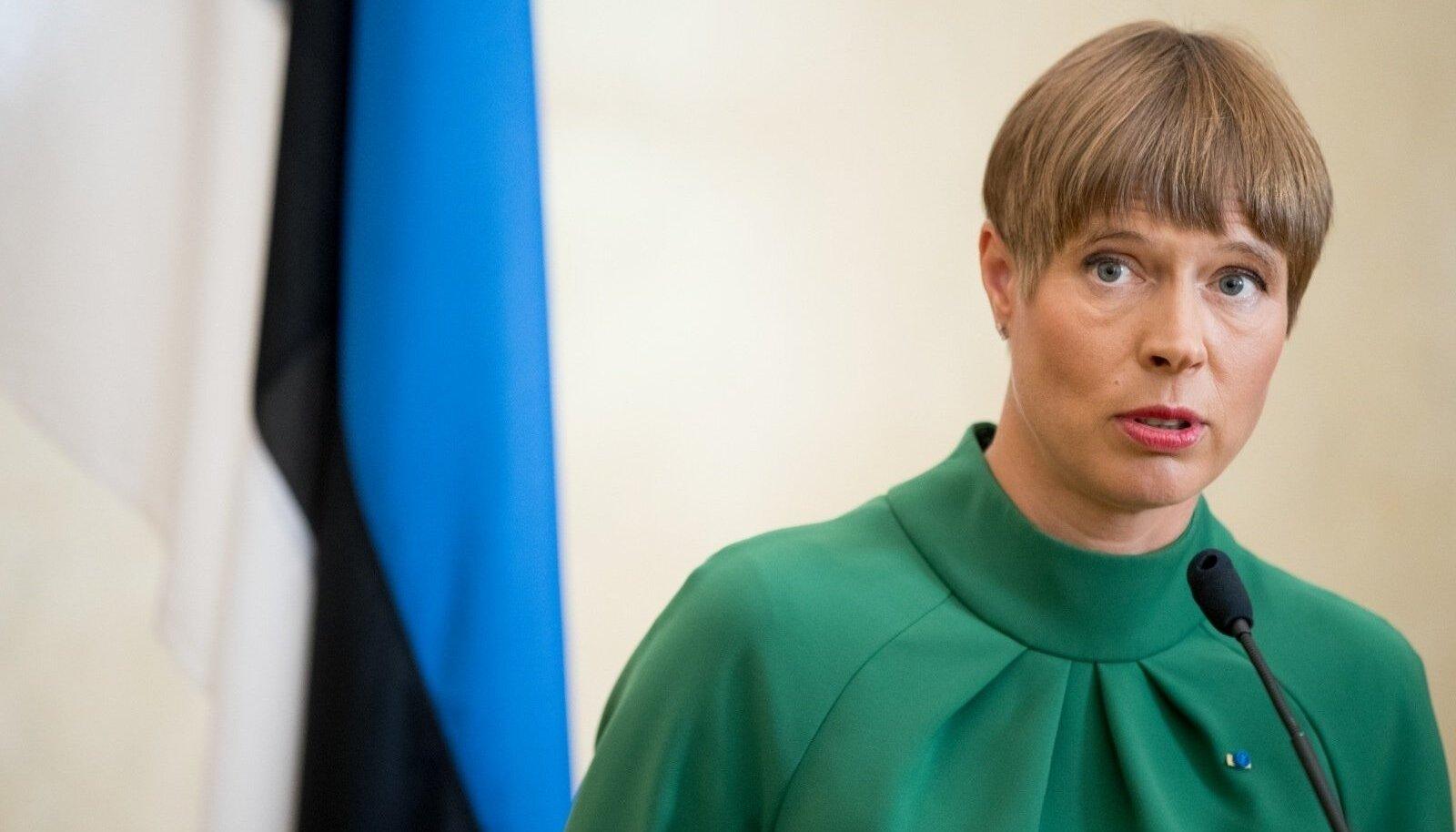 PRESIDENT POLE PEAMINISTRI ÜLEMUS: Kersti Kaljulaid moonutab presidendi tegelikku rolli ja loob tulevikuks halbu pretsedente, leiab ajakirjanik Mikk Salu.