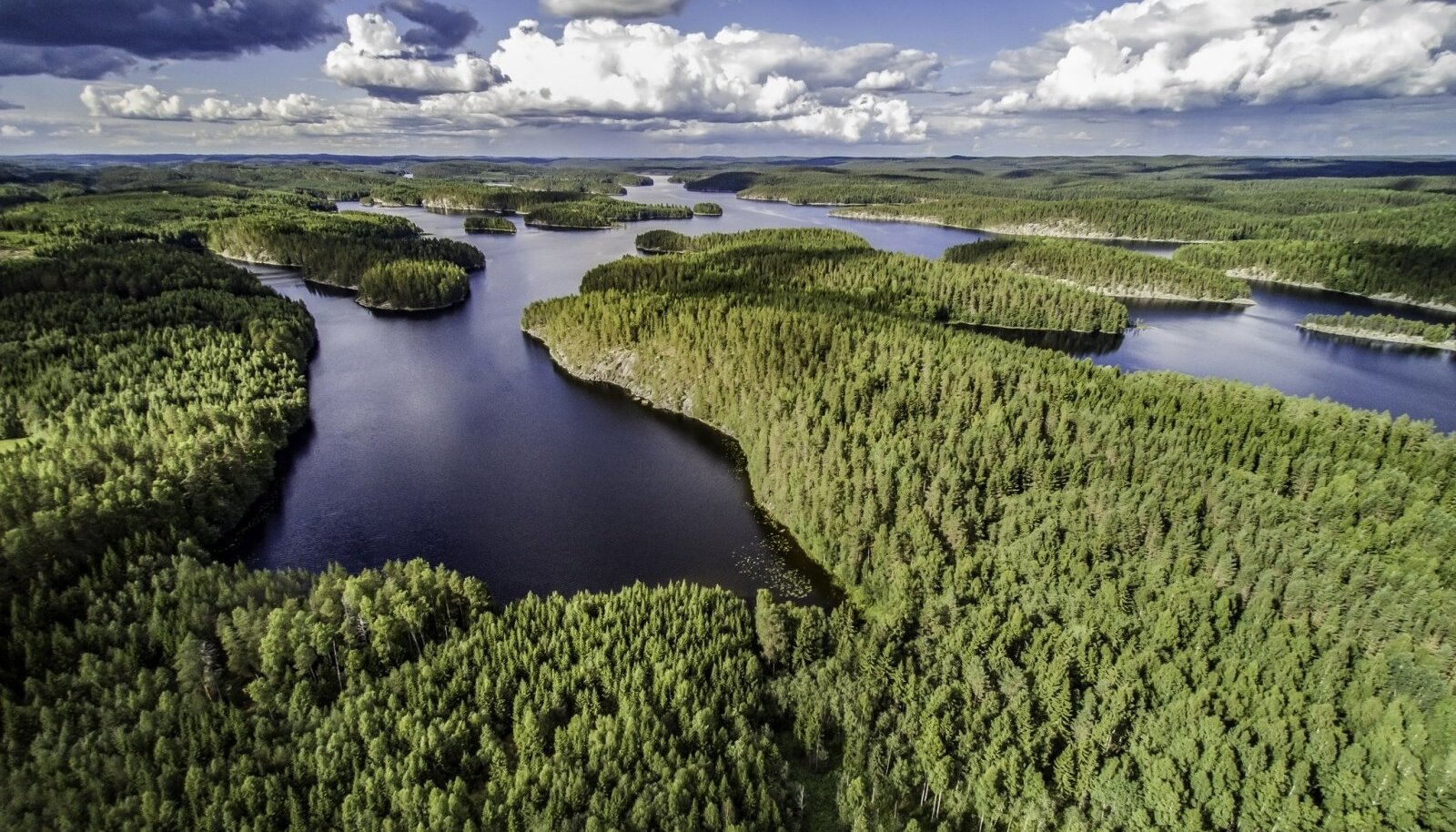 Первозданная красота Саймы в Финляндии