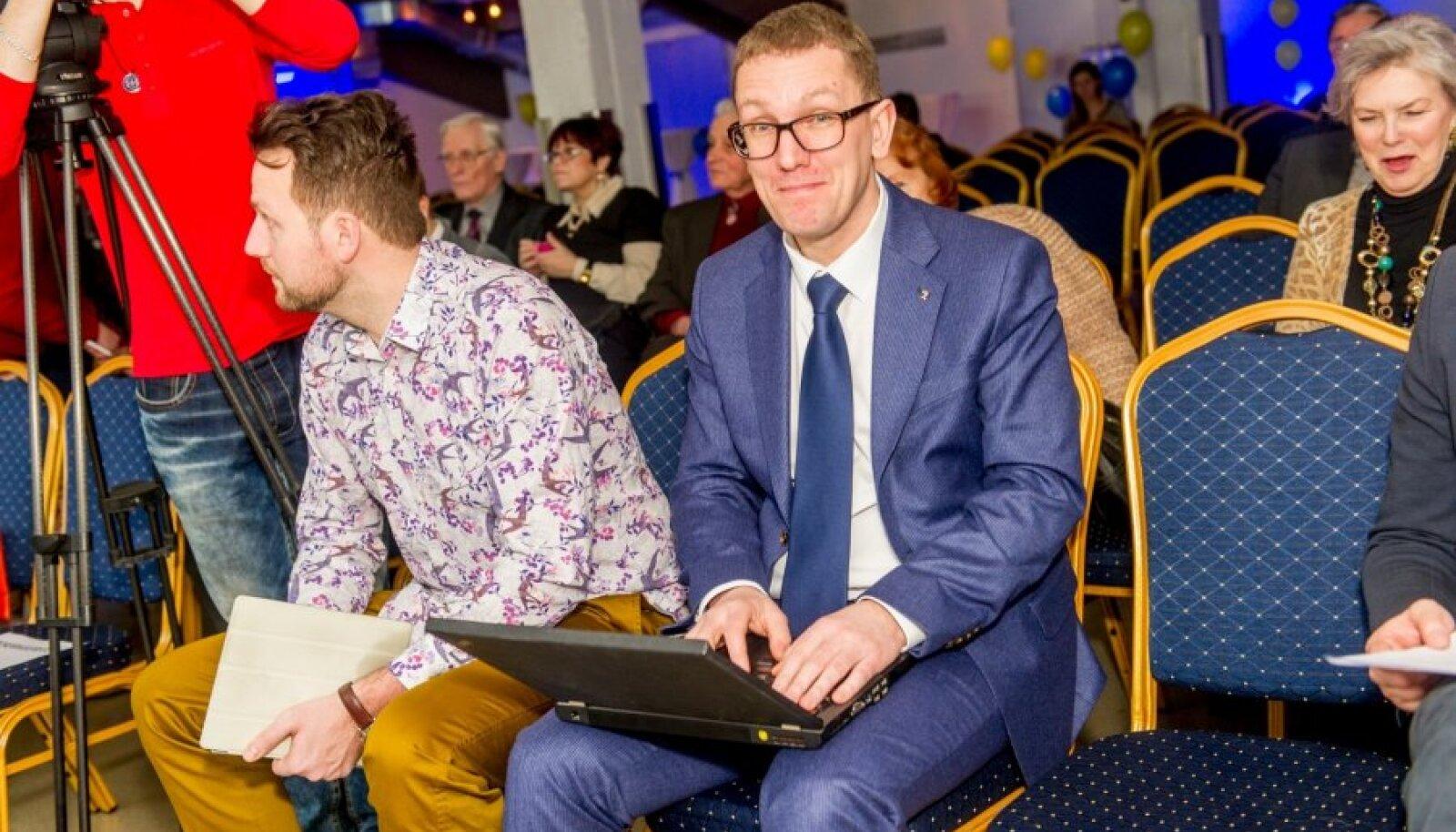 Krister Michal valiti täna Tallinna reformierakondlaste juhiks