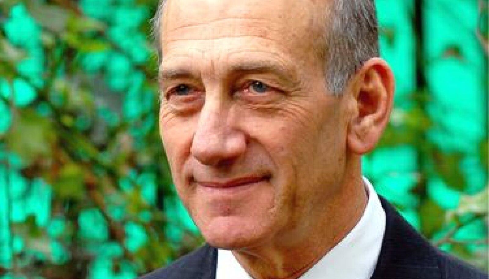Eduh Olmert, Iisrael