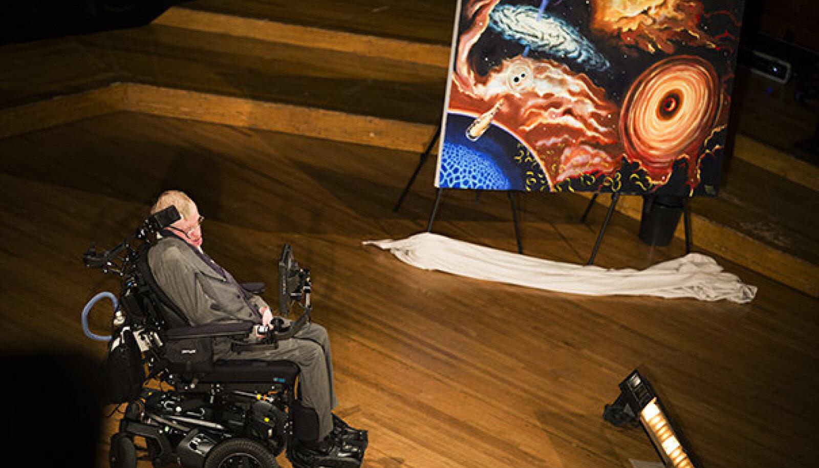 Hawking loengus. Foto: Stephanie Mitchell/Harvard Staff Photographer