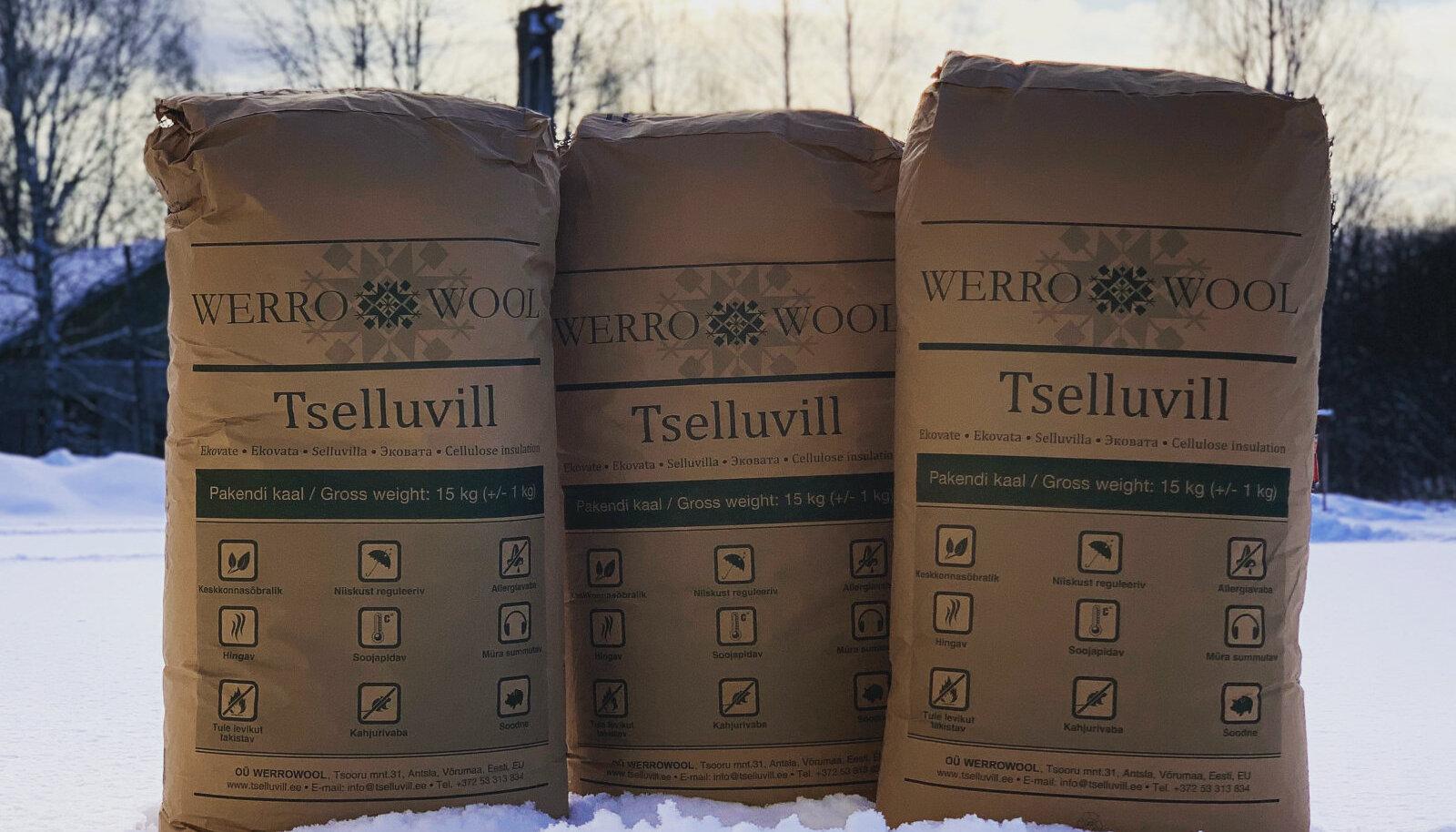 Werrowool on Eestis ainus soojustusvilla tootja