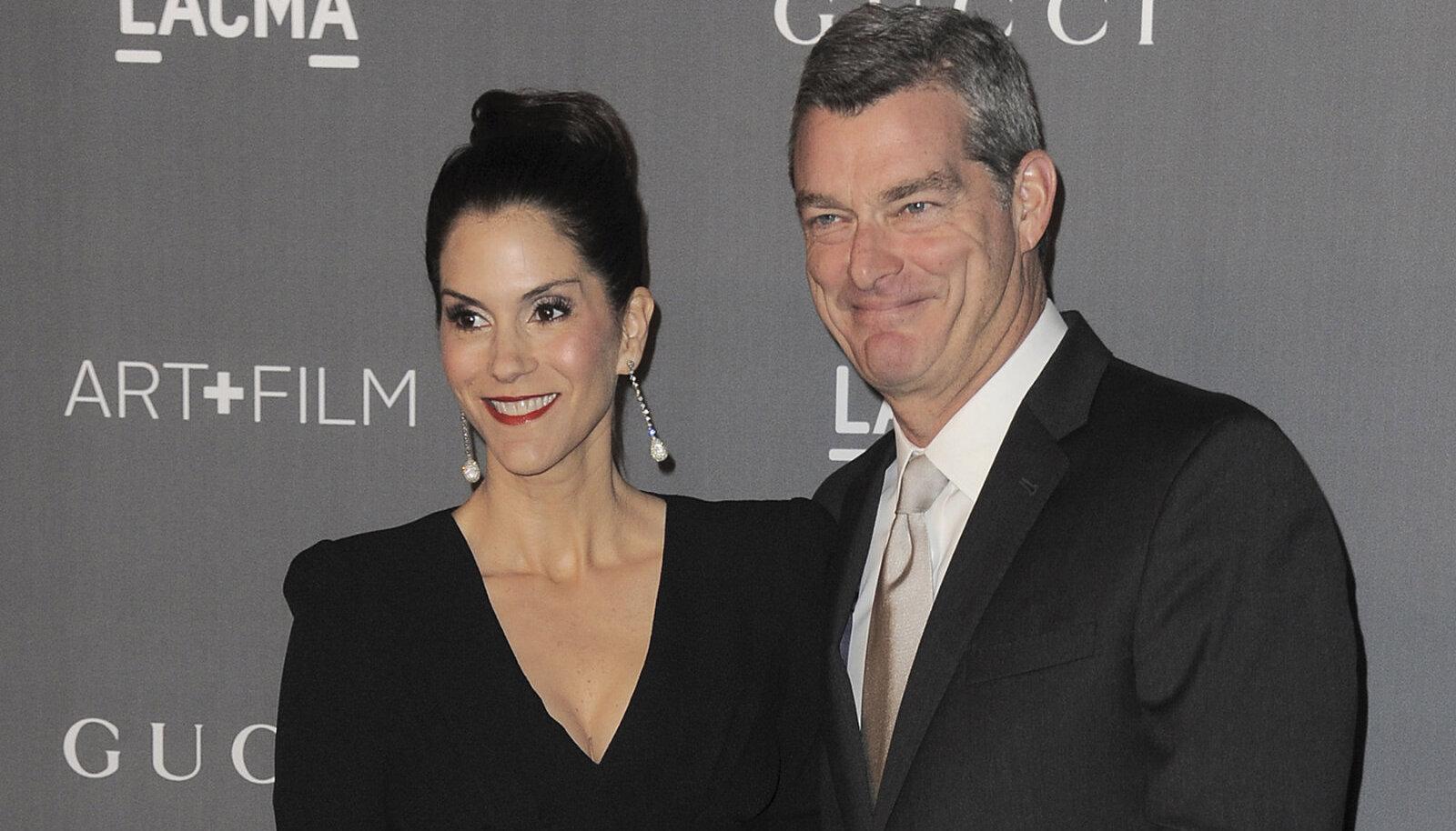 Jami Gertz ja tema abikaasa Antony Ressler