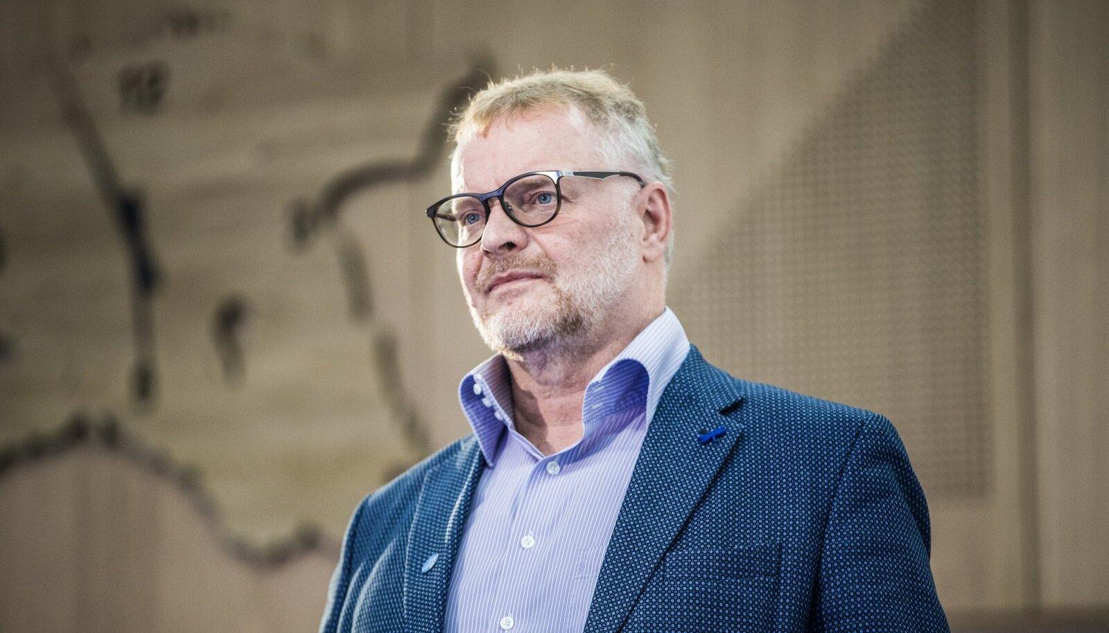 Eesti Ekspressi vastutav väljaandja Hans H. Luik.