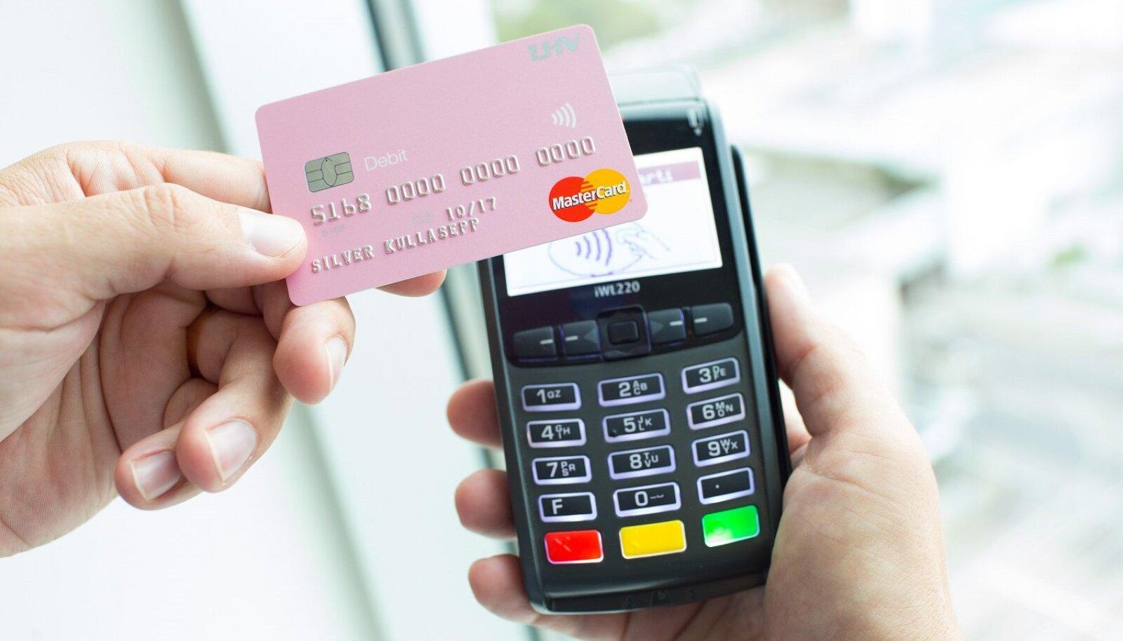 LHV, viipemakse, pangakaart, pank, raha, sularaha