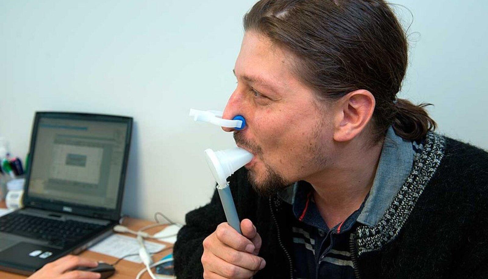 Hingan, nii et tolmab: Esimesel korral tuvastasid arstid kerge hingamispuudulikkuse. Viie nädala pärast oli see kadunud.