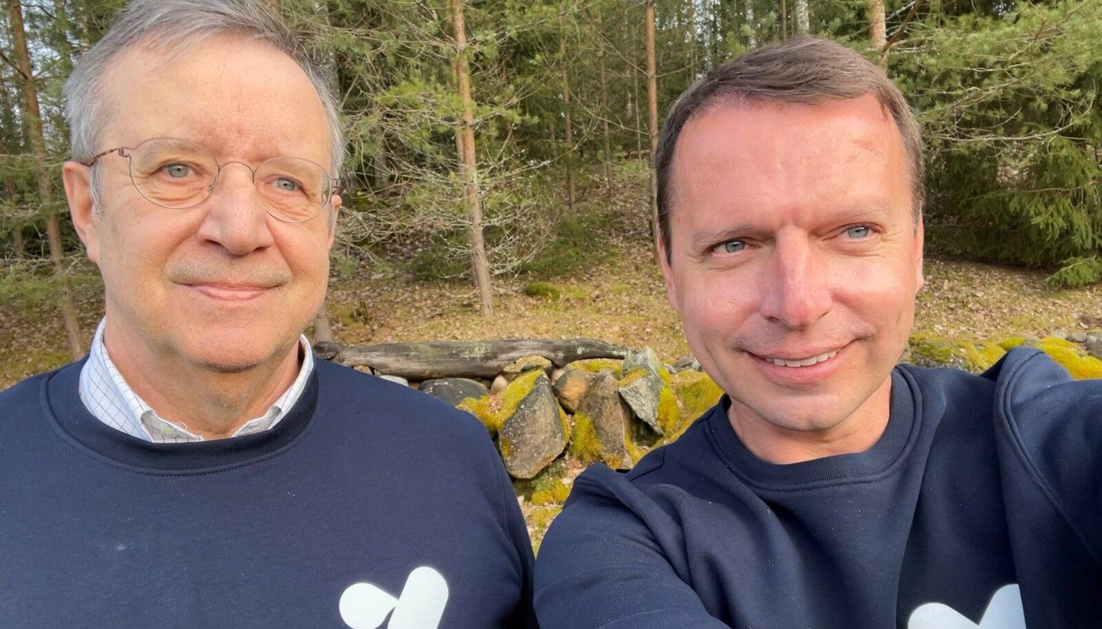 Toomas Hendrik Ilves ja Raul Källo