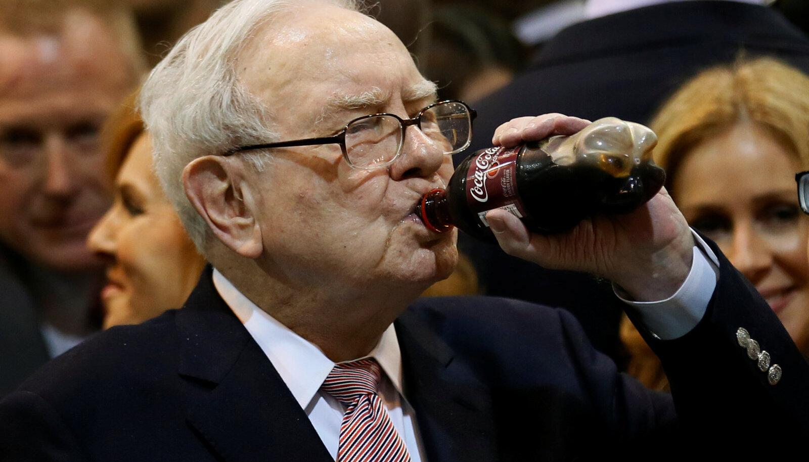 Warren Buffett oma lemmikjoogiga