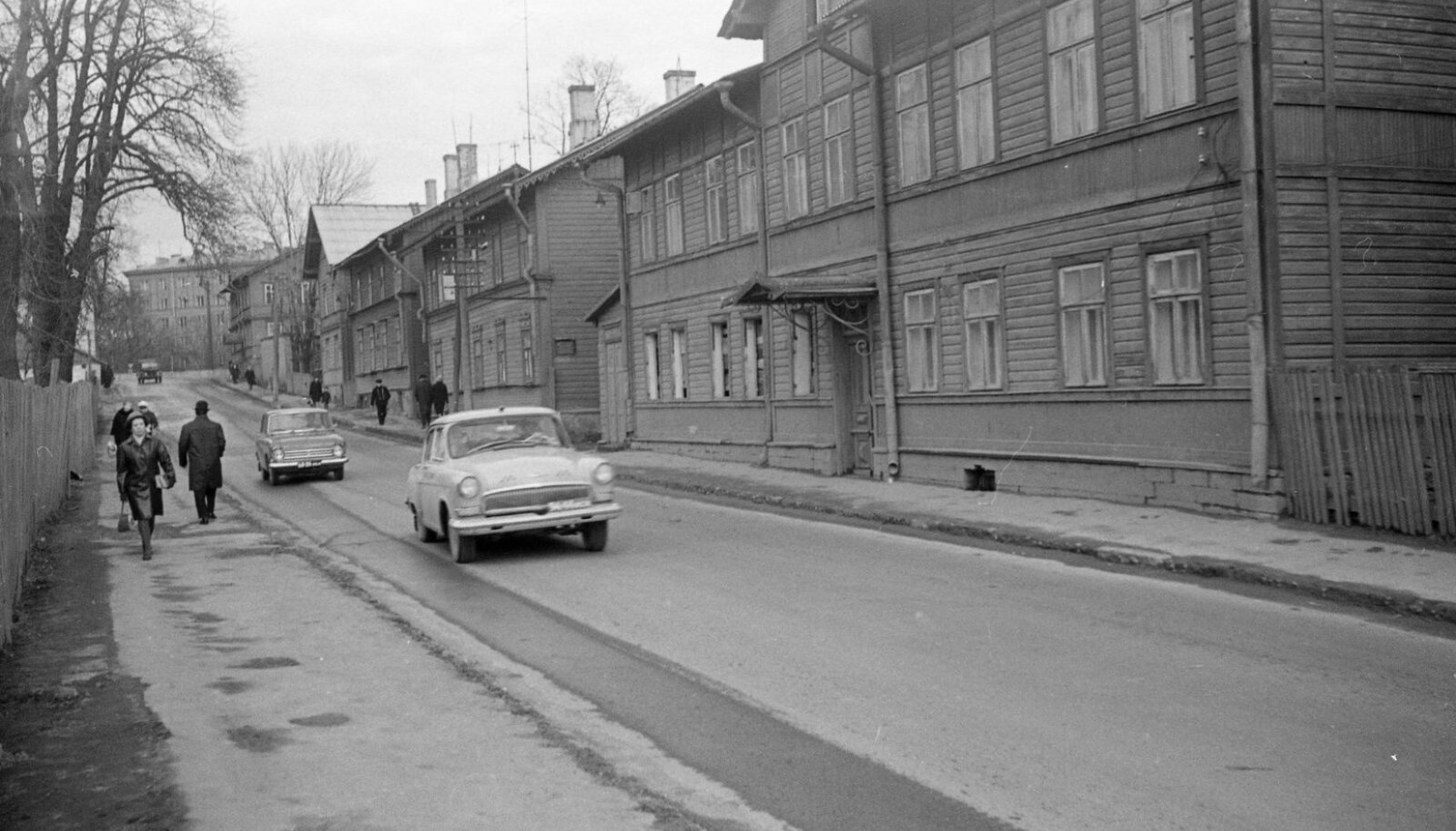Endla tänav, vaade Tõnismäe poole, 1968