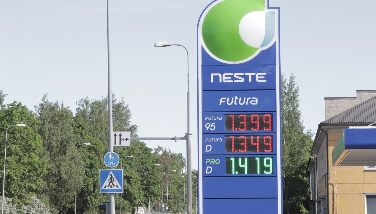 Kütuse hind Neste tanklas 29.mail.