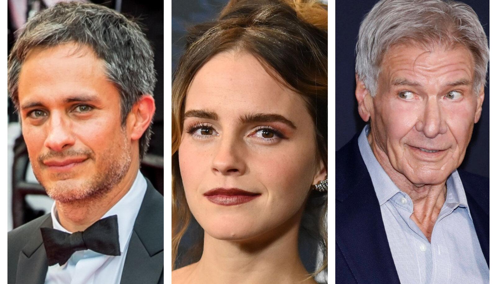 Gael García Bernal, Emma Watson ja Harrison Ford