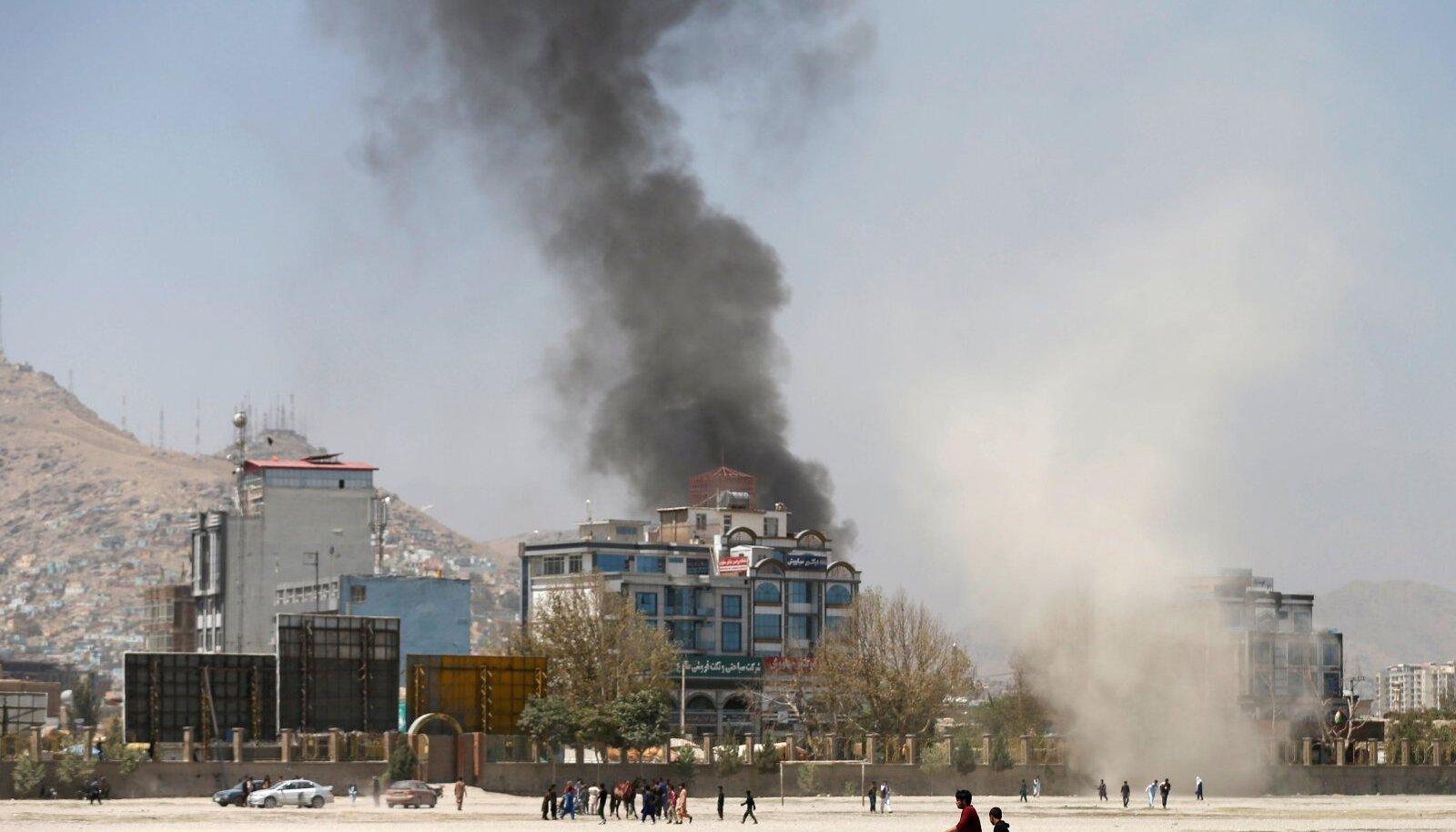 Talibani rünnak Afganistanis 2018. aastal