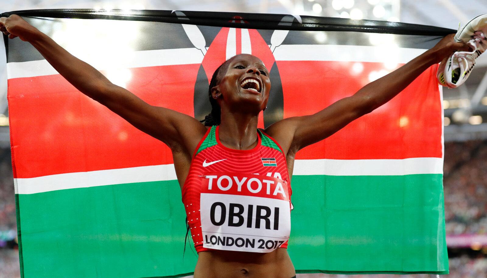 Keenia keskmaajooksja Hellen Obiri