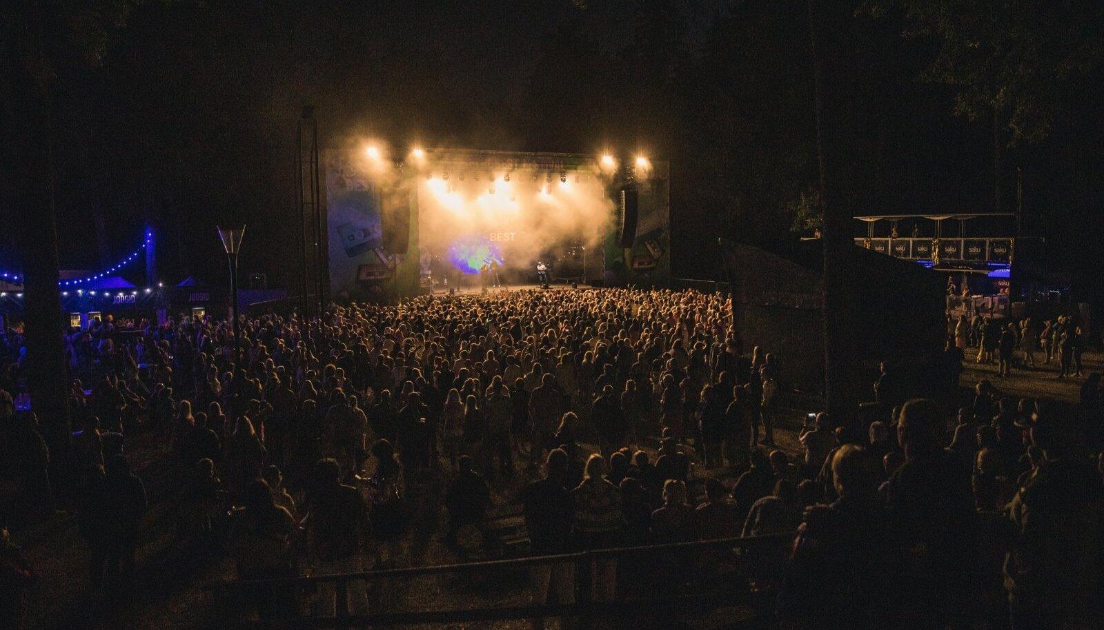 Retrobest Festival 2021. Foto on illustratiivne
