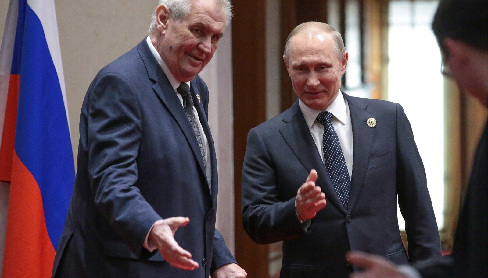 Zeman, Putin