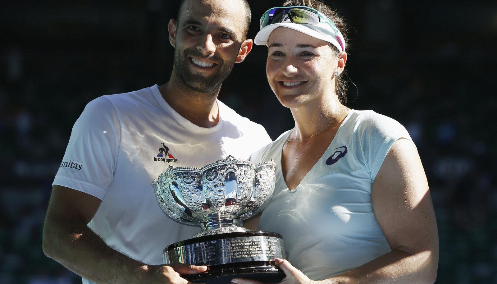 Кабаль и Спирс на Australian Open-2017