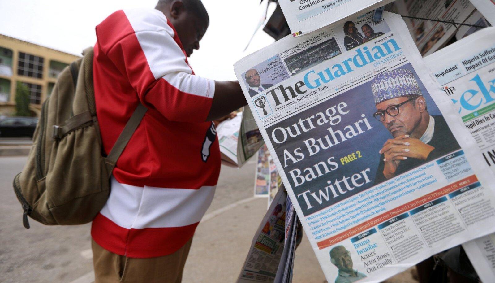 Lehepunkt Abujas, Nigeerias