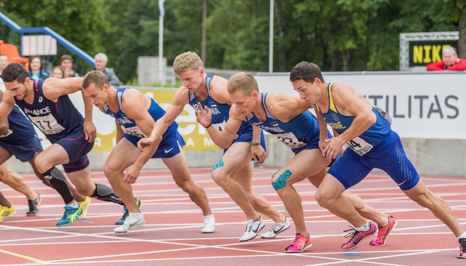 Tallinna Kadrioru staadion, mitmevõistlus