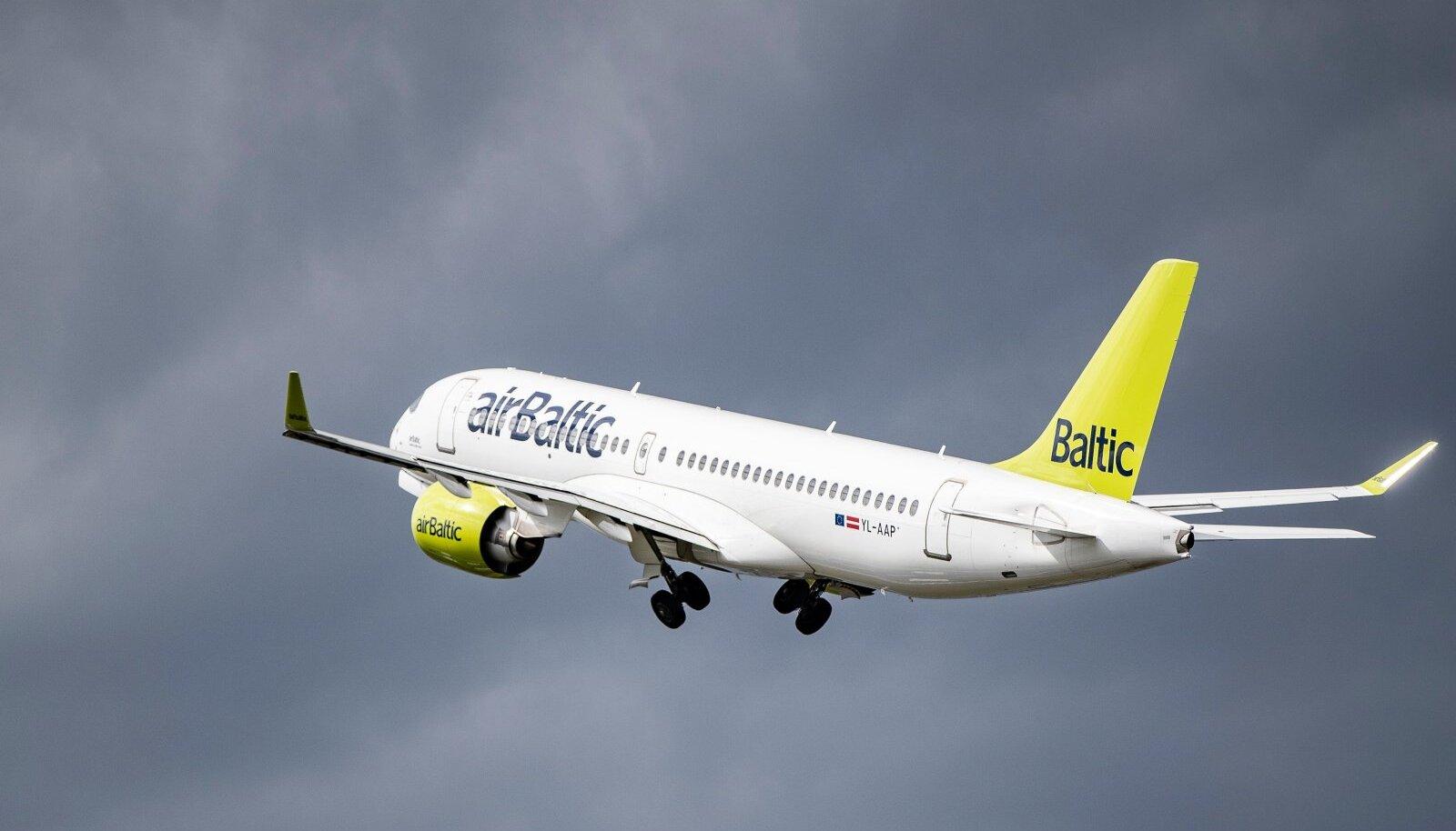 AirBalticu reisilennuk