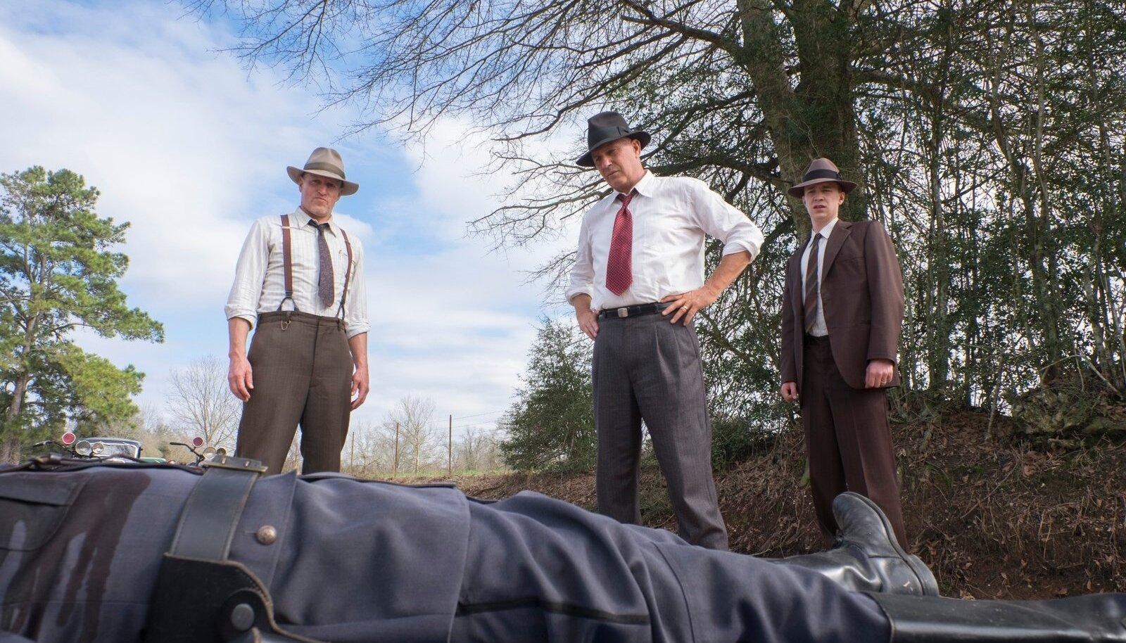 """""""The Highwaymen"""" - Kevin Costneri ja Woody Harrelsoni uus film Netflixis."""
