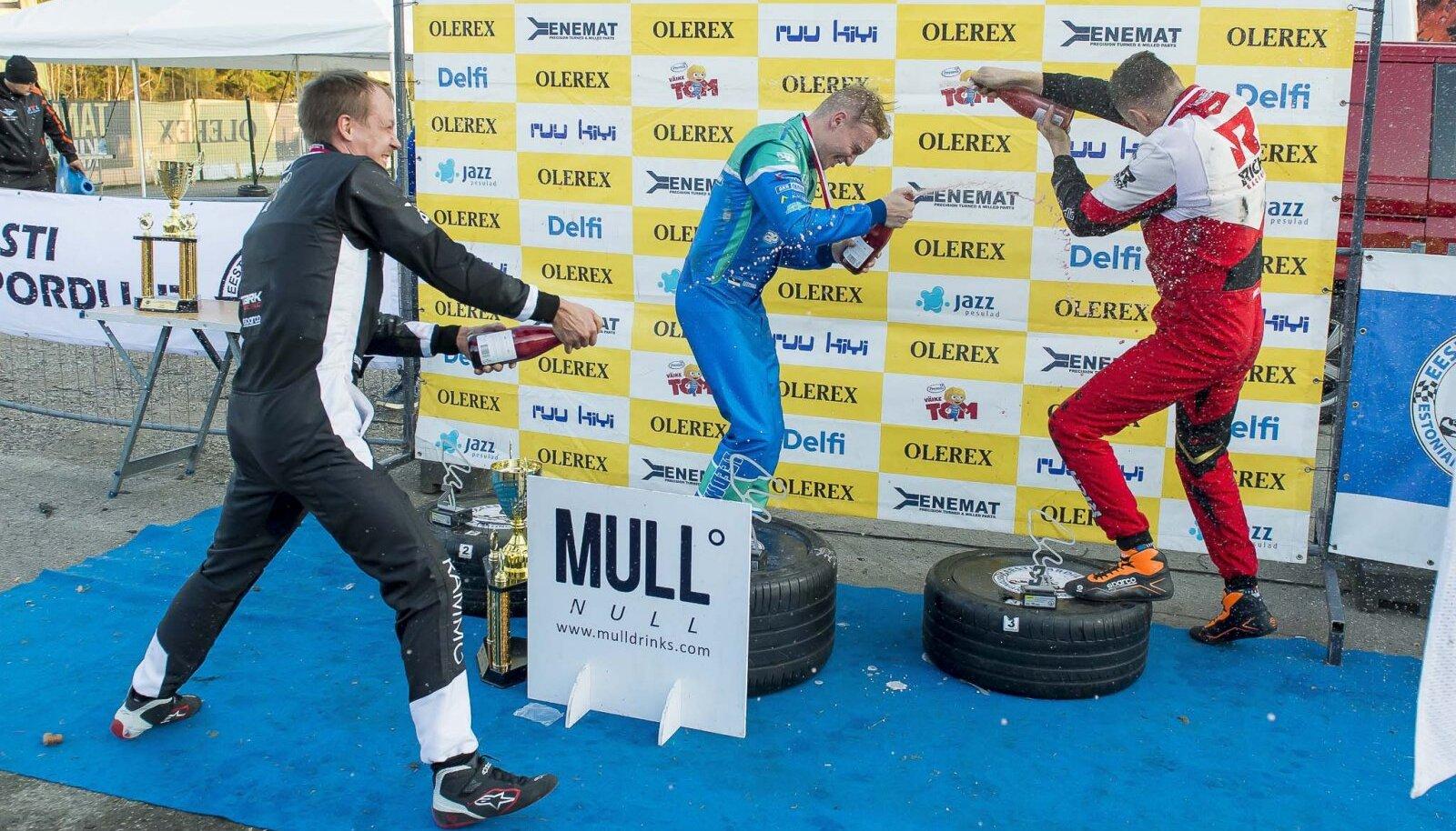Fotol klassi KZ2 võitja Siim Leedmaa. Foto autor Tõnis Krikk.