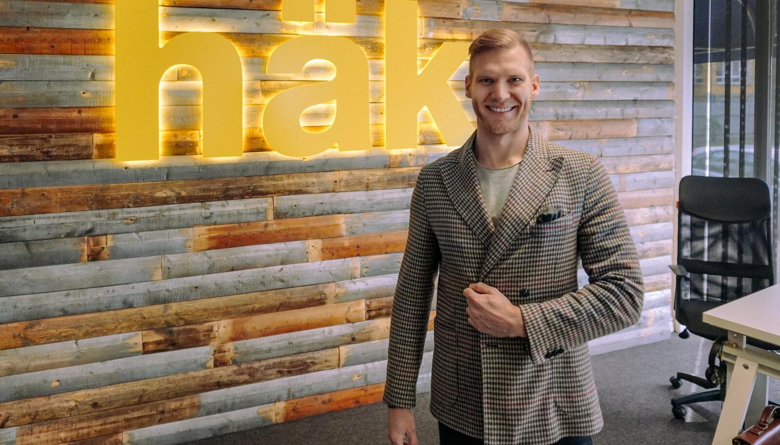 Einar Tiimla, loo autor ja Häki CEO
