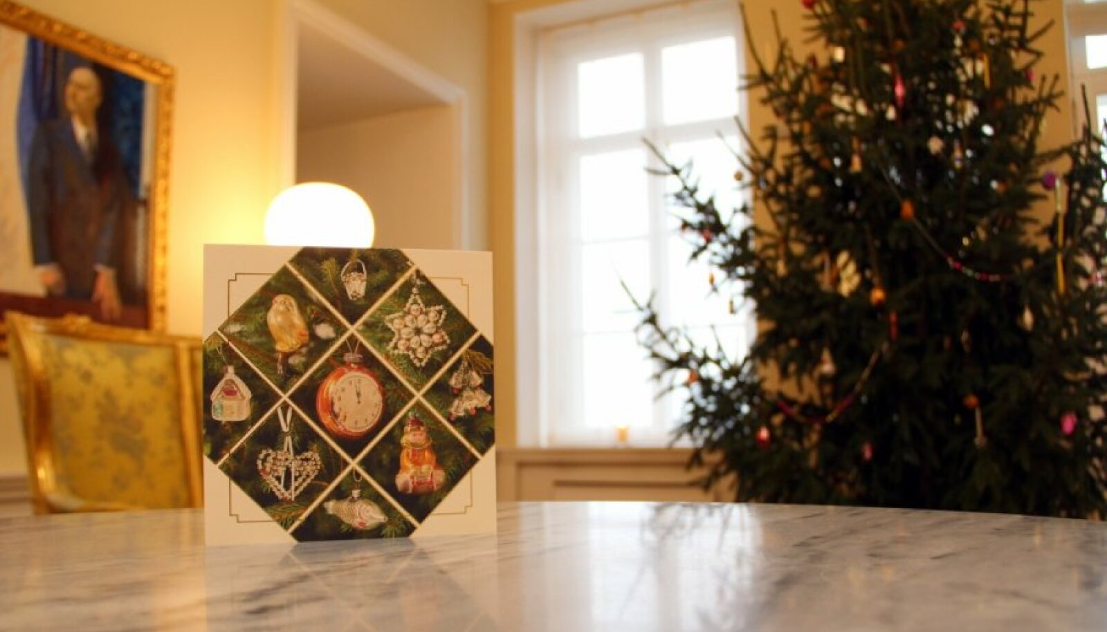 Andrus Ansipi jõulukaart