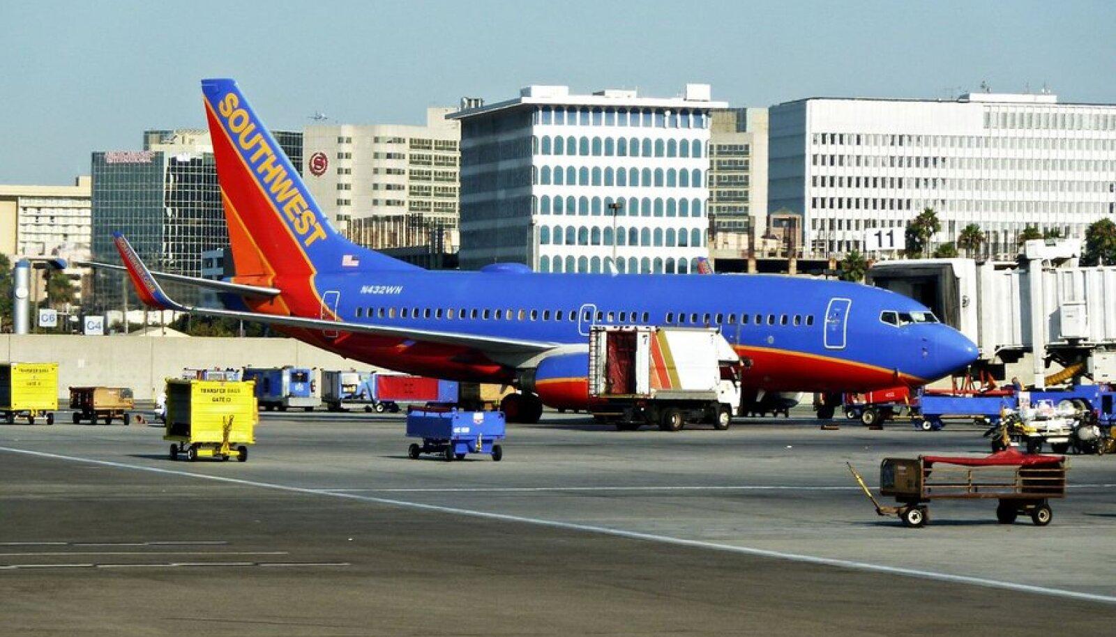 Üks Southwesti Boeingutest.