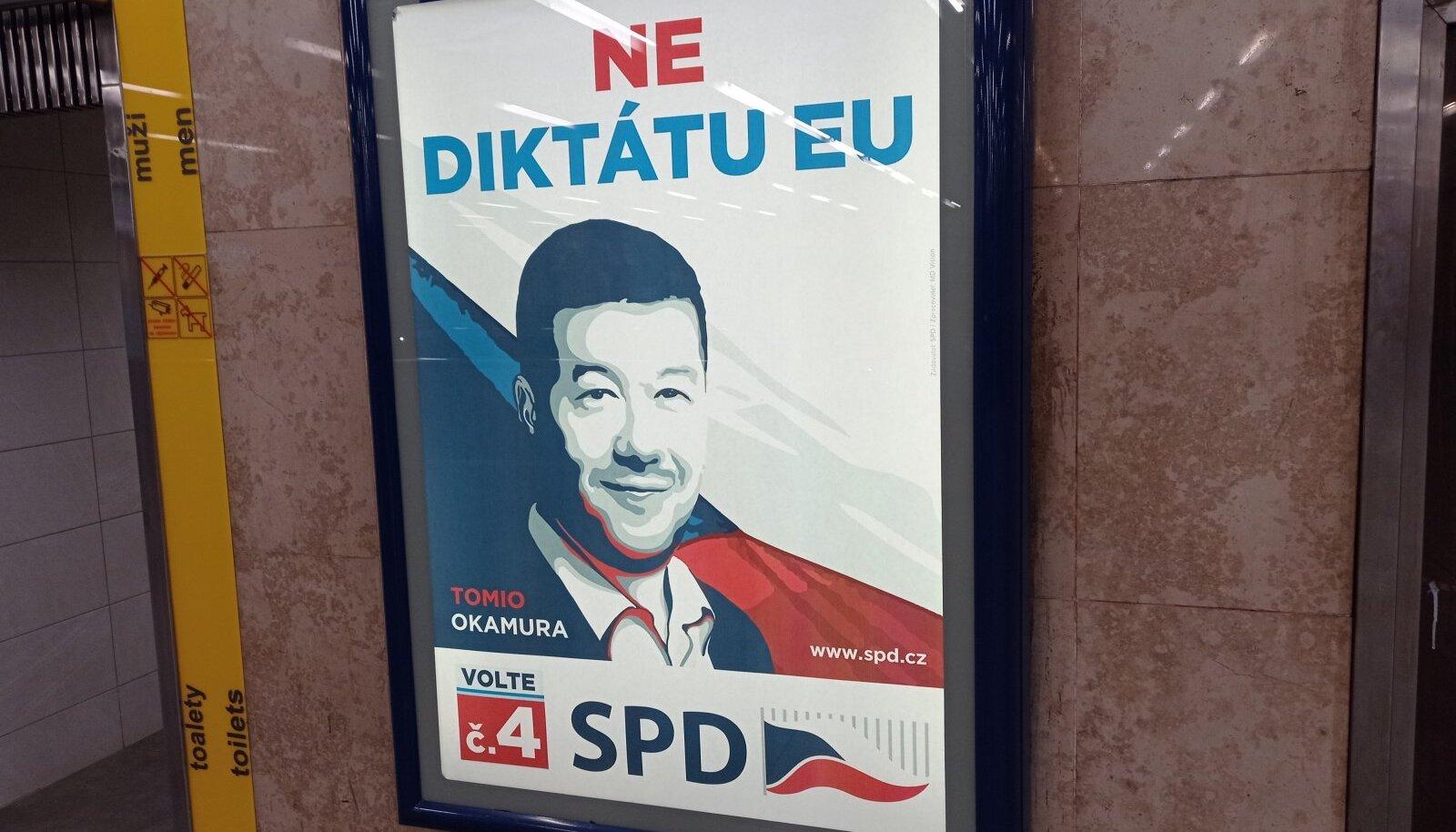 Erakond Vabadus ja Otsedemokraatia lubab vastu seista ELi diktaadile.
