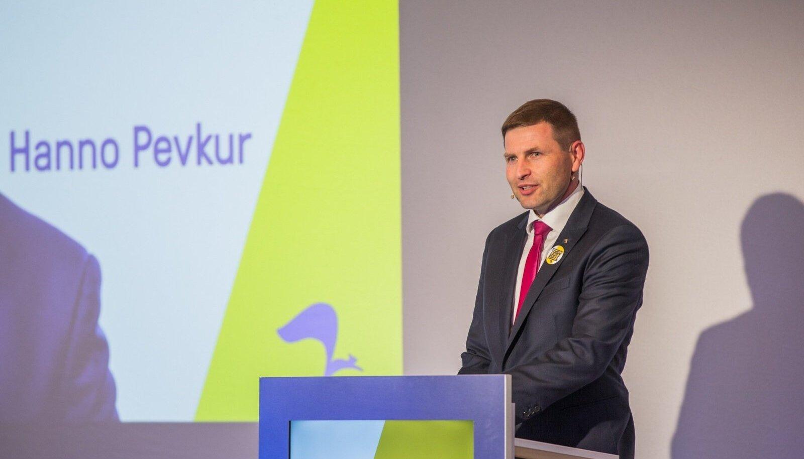 Reformierakonna esimees Hanno Pevkur