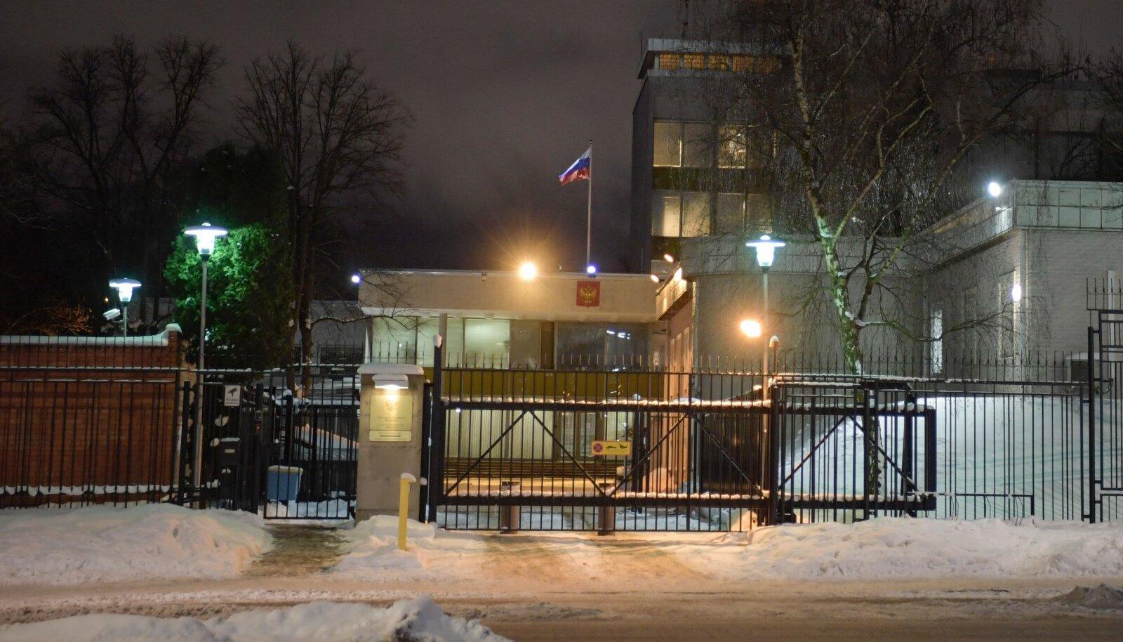 Venemaa saatkond Stockholmis