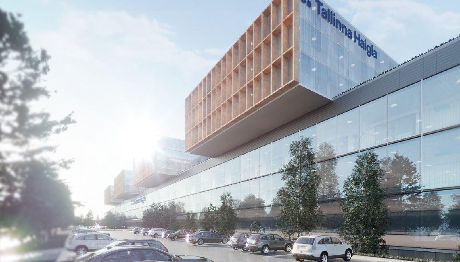 Tallinna Haigla arhitektuurilahendus