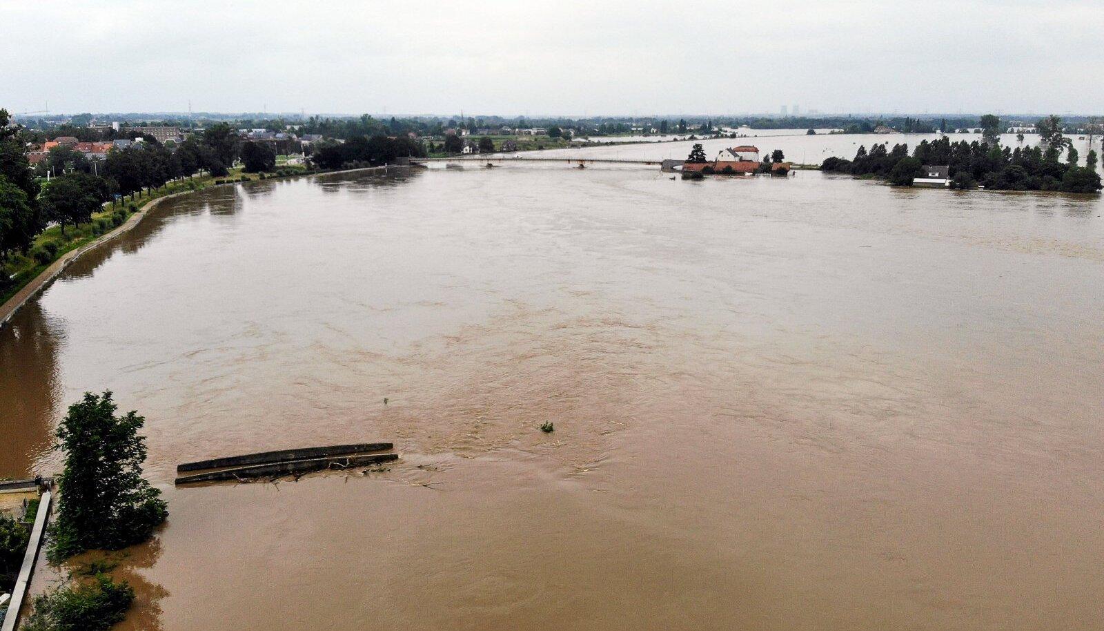 Üleujutused Limburgi provintsis.