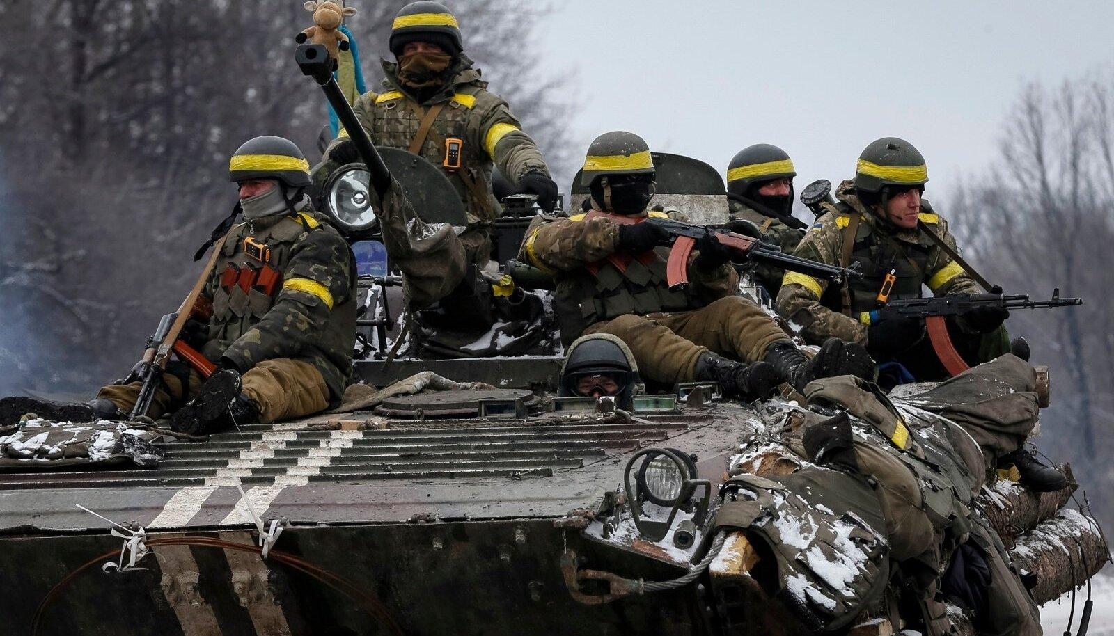 Ukraina sõdurid Debaltseves