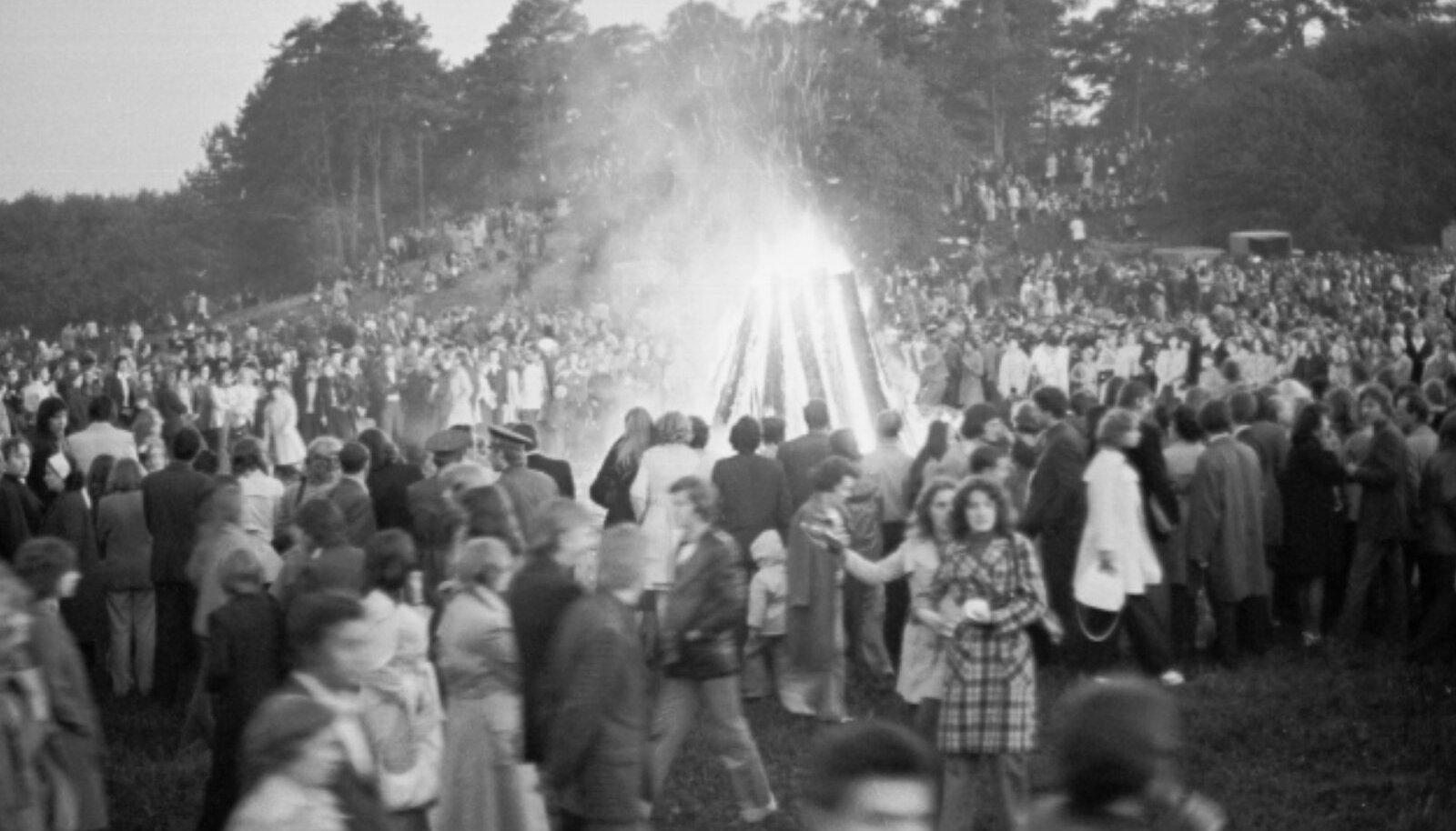 Jaanituli Valgas 1975 – 1980