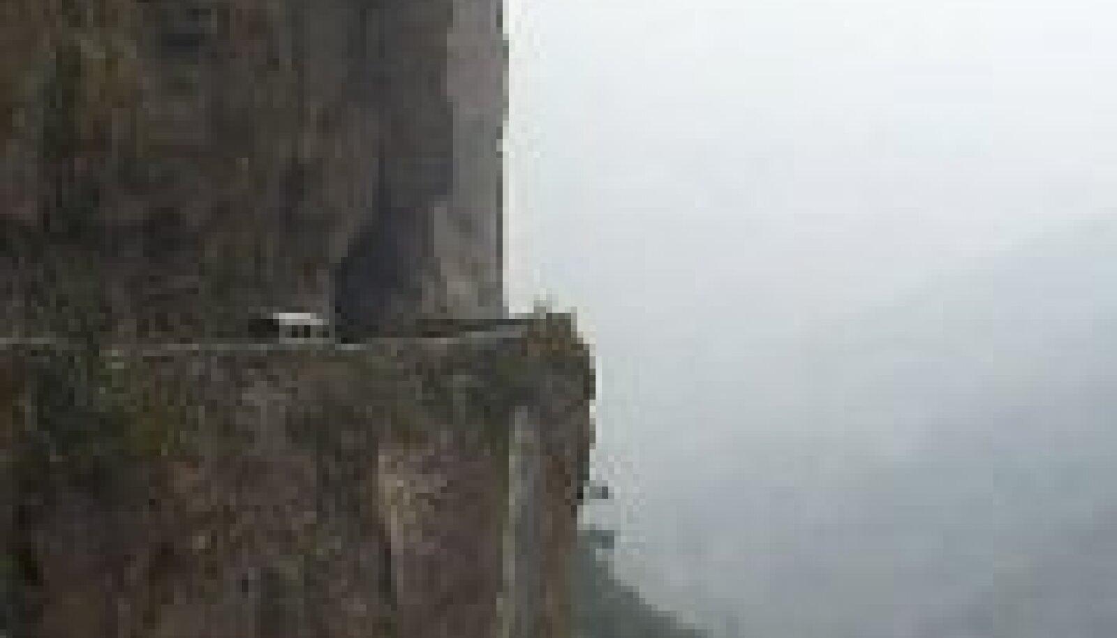 Närvikõdi tekitavad maanteed on turistide seas populaarsed