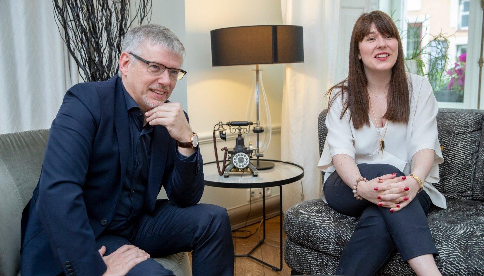 Ettevõtja Jan Lagast ja advokaat Magali Feys