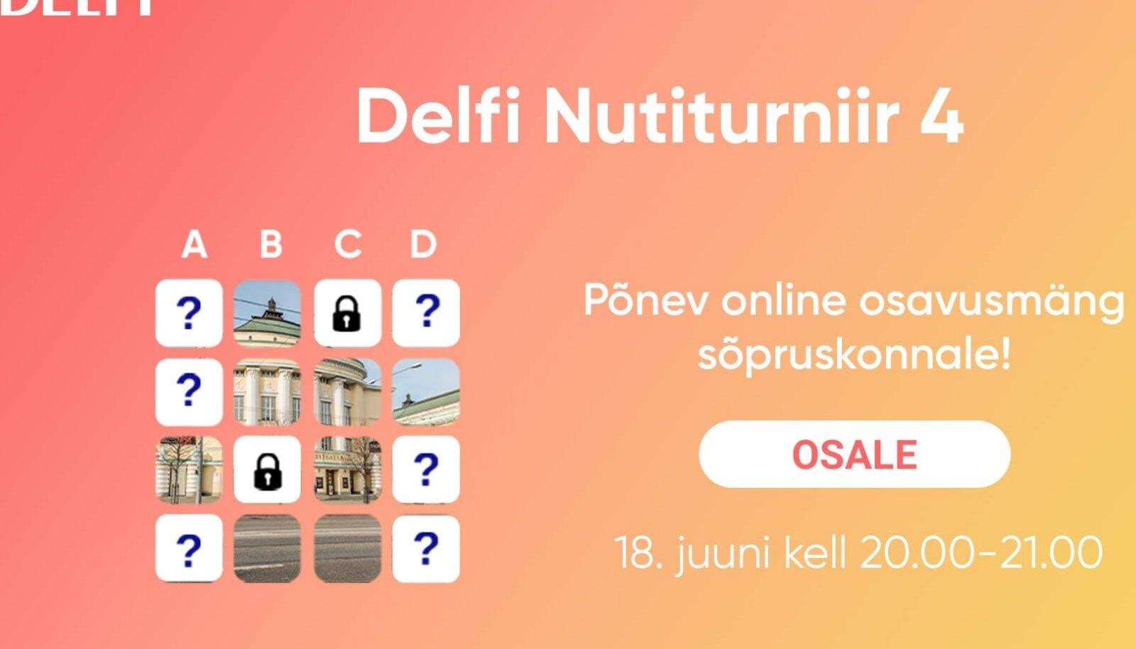Delfi Nutiturniir 4