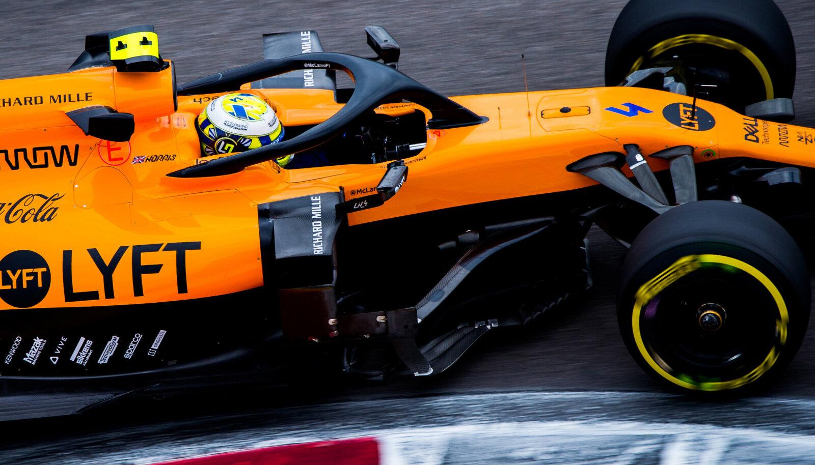 McLareni sõitja Lando Norris