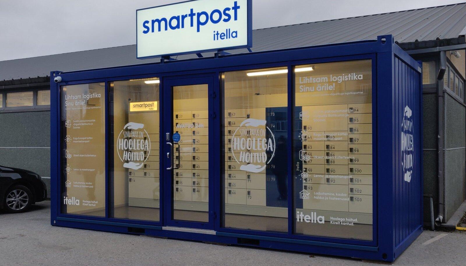 Smartposti uued pakimajad