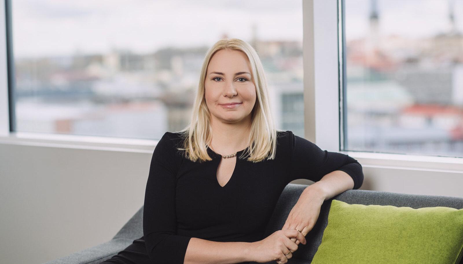 SEB erasegmendi müügijuht Evelin Koplimäe.